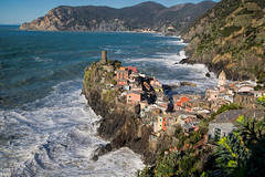 Vernazza-from the top (cheryl strahl) Tags: italy europe village flood medieval cinqueterre vernazza quaint picturesque liguriansea italianriviera hilltown