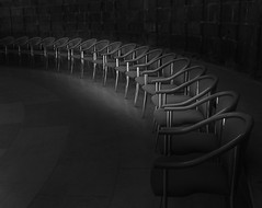 Repetition (Martyn.A.Smith) Tags: church monochrome canon cathedral chairs indoors tiles worcester semicircle 500d