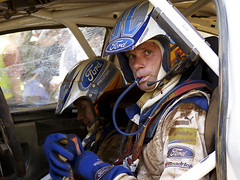 Marcus Gronholm (Peter Evans..) Tags: world portrait people sport speed action rally australia racing wrc driver select champiuonship