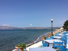Seaside, Kissamos (goforchris) Tags: holidays crete cafes hfholidays hf kissamos westerncrete walkingholidays