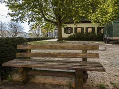 koblens weindorf bench P1090909 (seyjo) Tags: city bench town historic rhine rhein buidling koblenz mosel rheinlandpfalz moselle rhinelandpalatinate winevillage