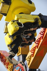 The Yellow Monster 1/32 (johey24) Tags: china shanghai expressions emotions rollercoasters amusementparks cherryblossomfestival joyrides humanfaces humanemotions guchen humanexpressions turningtummyrides guchenpark