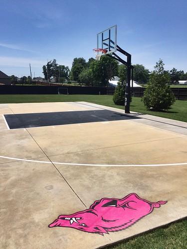 Half Court and Mascot