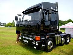 Fully restored Leyland Roadtrain looking stunning at Truckfest South 2016 (Headboltz) Tags: leyland roadtrain truckfest truck lorry