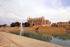 Mallorca_2016_Tag_4 (fotojunkie2015) Tags: wasser kathedrale kirche mallorca palma laseu