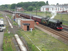 LNER A3 Class 60103 Flying Scotsman at Ferryhill. (O'neill 93) Tags: county england europe flickr br railway steam a3 locomotive eastcoast flyingscotsman countydurham eastcoastmainline mainline 2016 britishrailways lner steamlocomotives railtours 60103 ukrailtours