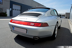 C4GS-31 (Wax-it.be) Tags: blue leather silver low 4 911 glacier porsche midnight mileage coupe carrera c4 detailing silber 993 zilver swissvax waxit