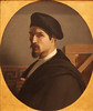 Self-Portrait (Grandiloquences) Tags: dumas portraits 19thcentury selfportraits beards moustaches mustaches cloaks berets frenchart 1830s goatees vandykes portraitpaintings frenchartists frenchpainters artistsselfportraits artistsportraits micheldumas frenchportraitists vandykebeards