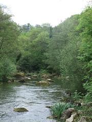 L'Orne reprend son cours naturel, aprs le barrage du lac de Rabodanges (tordouetspirit) Tags: castle architecture iglesia normandie normandy glise chteau bassenormandie paysagenormand