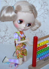 107 Blythe doll outfit - Top + Overall + Socks 3