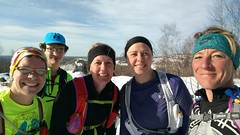 Stephanie Francis (North Country Trail) Tags: family snow run moms euphoria mrtt hike100nct