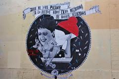 Madame Moustache + Fred le Chevalier_3027 passage Saint Antoine Paris 11 (meuh1246) Tags: streetart paris bonnet paris11 passagesaintantoine madamemoustache fredlechevalier