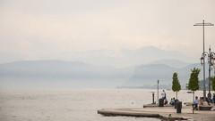 Italy - Lazise view on laggo di Garda (mauriceharing) Tags: italy lake landscape nikon garda view approved lakegarda lazise dolomieten 1685