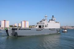 HNLMS Rotterdam  L 800 (Rob_Pennycook) Tags: dutch rotterdam ship navy solent portsmouth naval warship lbd hnlms hnlmsrotterdam