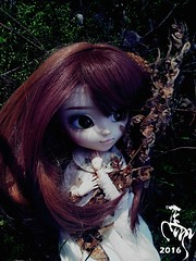 Souls of the Woods (Malina (LaelP)) Tags: cute nature beautiful souls hope spring woods doll pretty sad forrest creepy groove ghosts lonely pullip nina nanachan obitsu