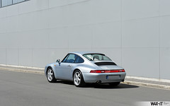C4GS-45 (Wax-it.be) Tags: blue leather silver low 4 911 glacier porsche midnight mileage coupe carrera c4 detailing silber 993 zilver swissvax waxit