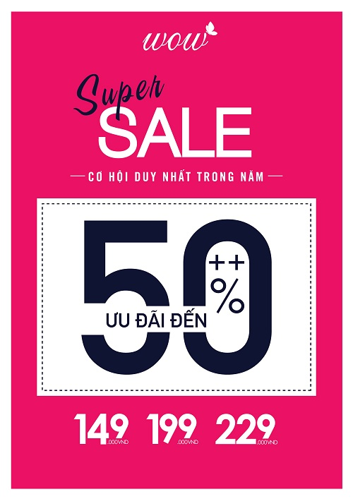 Super Sales up to 50%