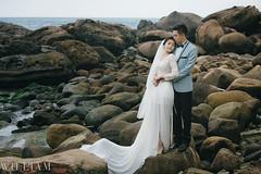 WIL_6971 (WillyYang) Tags: wedding canon groom bride rocks taiwan 5d 70200 weddingphoto weddingphotography 70200f28 weddingbride vsco 5d3 70200mmf28lii 5dmark3 canon5d3 canon5dmark3