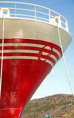 St. John's Day 2-065 (janetliz) Tags: red newfoundland ship stjohns bow