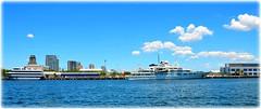 St Petersburg, Florida Harbor (lagergrenjan) Tags: mega yacht tatoosh st petersburg harbor florida