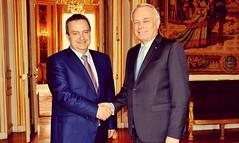 Ministar Dacic sa francuskim kolegom Eroom u #Pariz na sastanku ministara spoljnih poslova Berlinskog procesa, 24.05.2016. (SRB_Diplomacy) Tags: pariz