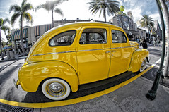 The yellow cab (Arimm) Tags: old car yellow vintage vehicle arimm