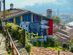 street art Veliko Tarnovo (Elena Scortecci) Tags: urban streetart art colors graffiti arte bulgaria urbano colori tarnovo velikotarnovo veliko