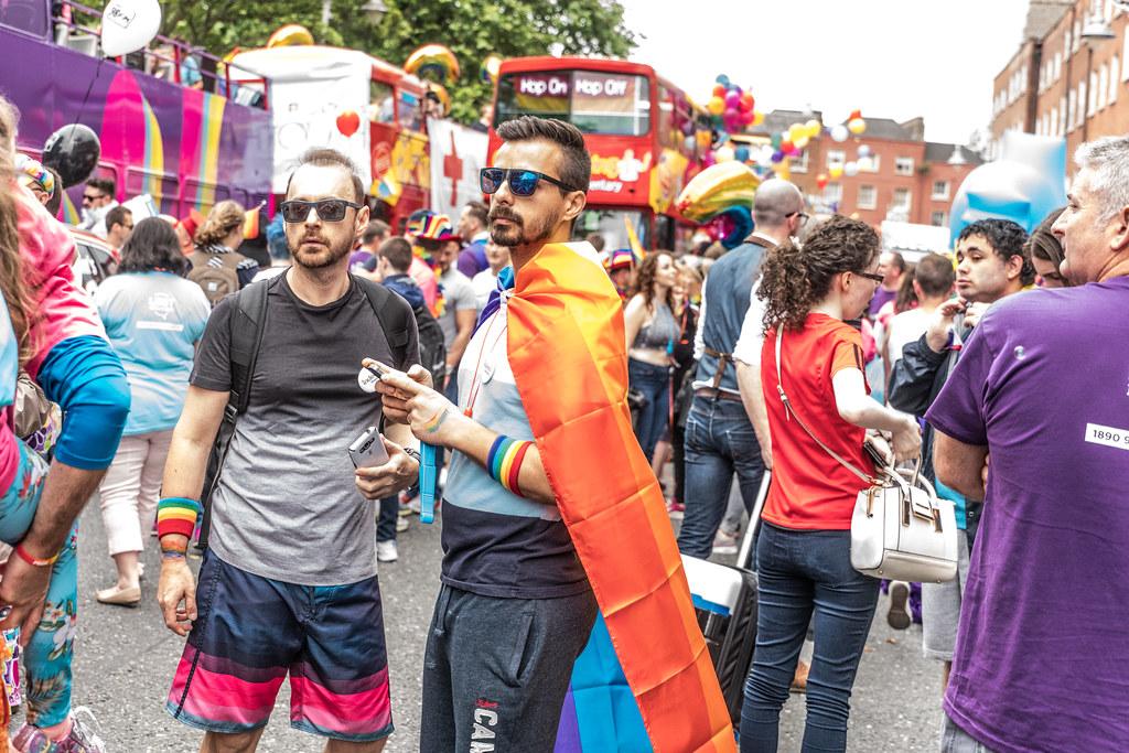 PRIDE PARADE AND FESTIVAL [DUBLIN 2016]-118079
