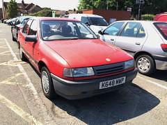 Vauxhall Cavalier Mk3 2.0i L (VAGDave) Tags: l cavalier 1992 vauxhall mk3 20i