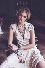 Marine pour Jalan Jalan (Laurianne Gouley) Tags: paris mannequin beautiful rock hair model marine bijoux jewellery blond blonde jalan laurianne boheme agence gouley duchez