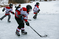 RD1_0548 (rick_denham) Tags: canada hockey goalie puck stcatharines defense forward on