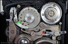 Kalloflex Transport & Counter Mechanism (12) (Hans Kerensky) Tags: kowa kalloflex transport stop counter mechanism gears working function overview problem repaired