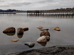 Lake Goodwin Resort 2 (cyderr82) Tags: summer lake water dock rocks shoreline resort