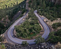 Rowena historic highway curves 6 18 2016 (rbdal (Rick Dalrymple)) Tags: road oregon nikon highway anniversary curves historic horseshoecurve rowenacrest historiccolumbiariverhighway wascocounty pavedroad touristdestination 100thanniversary exploreoregon d7000