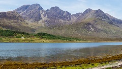Bla Bheinn and Clach Glas (AnnieMacD) Tags: mountains skye scotland unitedkingdom gb cuillin blabheinn torrin clachglas lochslapin