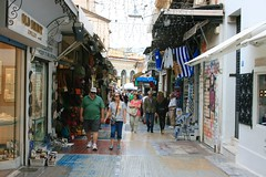 (Brian Aslak) Tags: city urban europe hellas athens tourists greece plaka attica