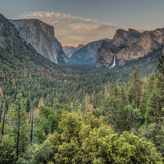 Sunset at Tunnel View, Yosemite National park (shalabh_sharma7) Tags: california travel sunset usa waterfall bravo tokina halfdome yosemitenationalpark elcapitan nationalparks yosemitevalley lastlight bridalveilfall nps100 sonya77ii findyourpark