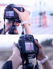 Behind the camera. Me in action! #BasmaNazar #basmanazarphotography #ibn (basmanazar) Tags: ibn basmanazar basmanazarphotography