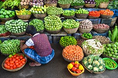 Fresh vegetable shop!! (ashik mahmud 1847) Tags: man color shop pattern ngc nikkor bangladesh d5100