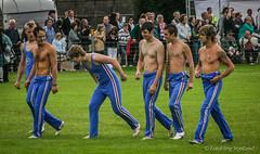 Athletes (FotoFling Scotland) Tags: shirtless scotland barechested athletes crieff 2007 highlandgames crieffhighlandgathering