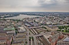 Hamburg - Alster vom Ballon (www.elbpresse.de) Tags: hamburg alster vogelperspektive grosstadt