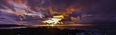 Flashpoint (buddah1888) Tags: ndgrad vibrantcolour vibrant nuclearexplosion canon400d atomicbomb sunset inferno explosion buddah1888 eos seascape scotland westcoast