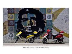 Che Guavara Grafitti (Gadget333) Tags: streetart latinamerica vintage 60s grafitti havana cuba historic communism castro scooters cheguavara