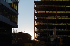 Building KI (reidab) Tags: se sweden stockholm ki solna karolinska constrction stockholmsln