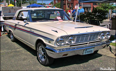 '64 Ford Fairlane (Photos By Vic) Tags: 1964 64 ford fairlane white automobile antique vehicle vintage classic car carshow
