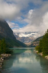 Lake Louise (gpa.1001) Tags: canada alberta lakelouise banff clouds glacier