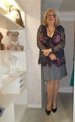 2016 - 06 - 16 - Karoll  - 003 (Karoll le bihan) Tags: feminine femme lingerie crossdressing tgirl transgender transvestite stocking bas pantyhose crossdress stilettos travestis feminization travesti travestie escarpins fminisation travestisme travestissement