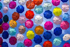 Colors in the Sky (Max Valenzuela) Tags: travel vacation colors umbrella mexico guadalajara jalisco colores sombrilla paraguas tlaquepaque gdl