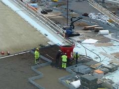 Vrtaterminalen (skumroffe) Tags: people port harbor pier construction sweden stockholm harbour baustelle cruiseship bygge pir hamn vrtahamnen mnniskor byggarbetsplats siljaterminalen vrtan kryssningsfartyg vrtapiren vrtaterminalen