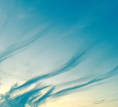 Sunset in Paris (Tom BRETON) Tags: blue sunset shadow summer sky cloud 6 sun paris apple night landscape spring cloudy smoke bleu ciel paysage lightroom iphone